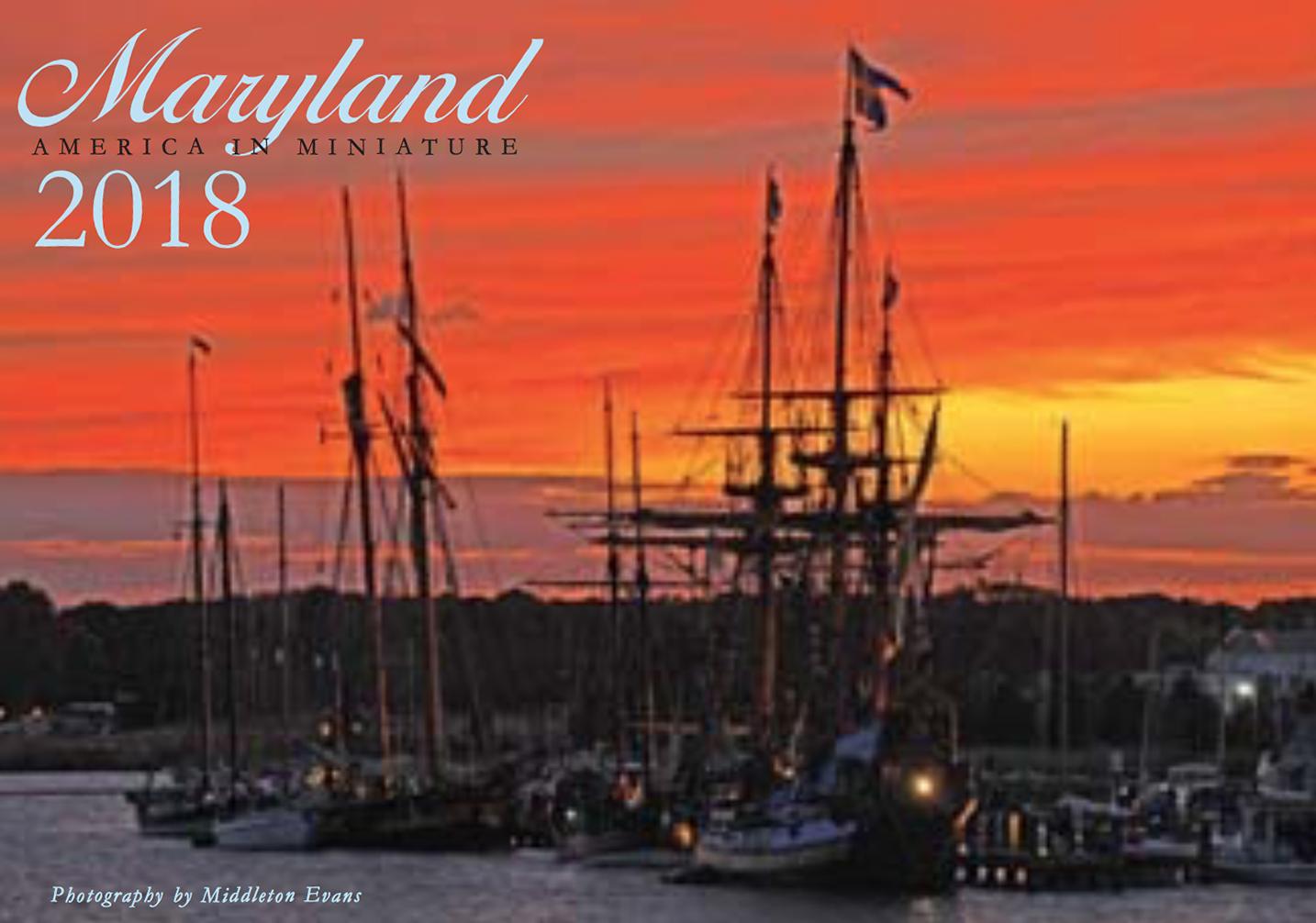 Maryland Calendar 2018